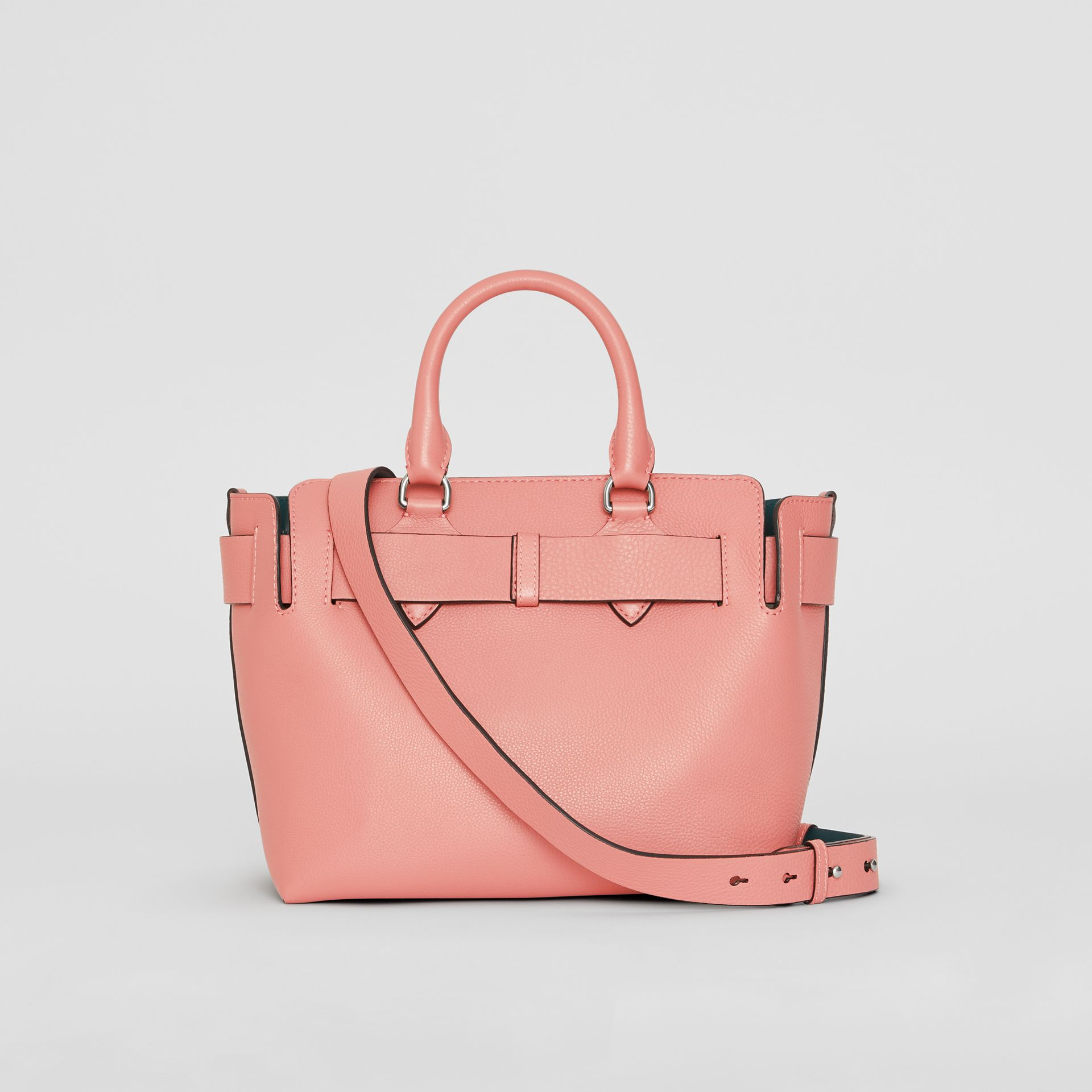 The Small Leather Belt Bag in Dusty Rose - Women | Burberry United Kingdom - gallery image 7