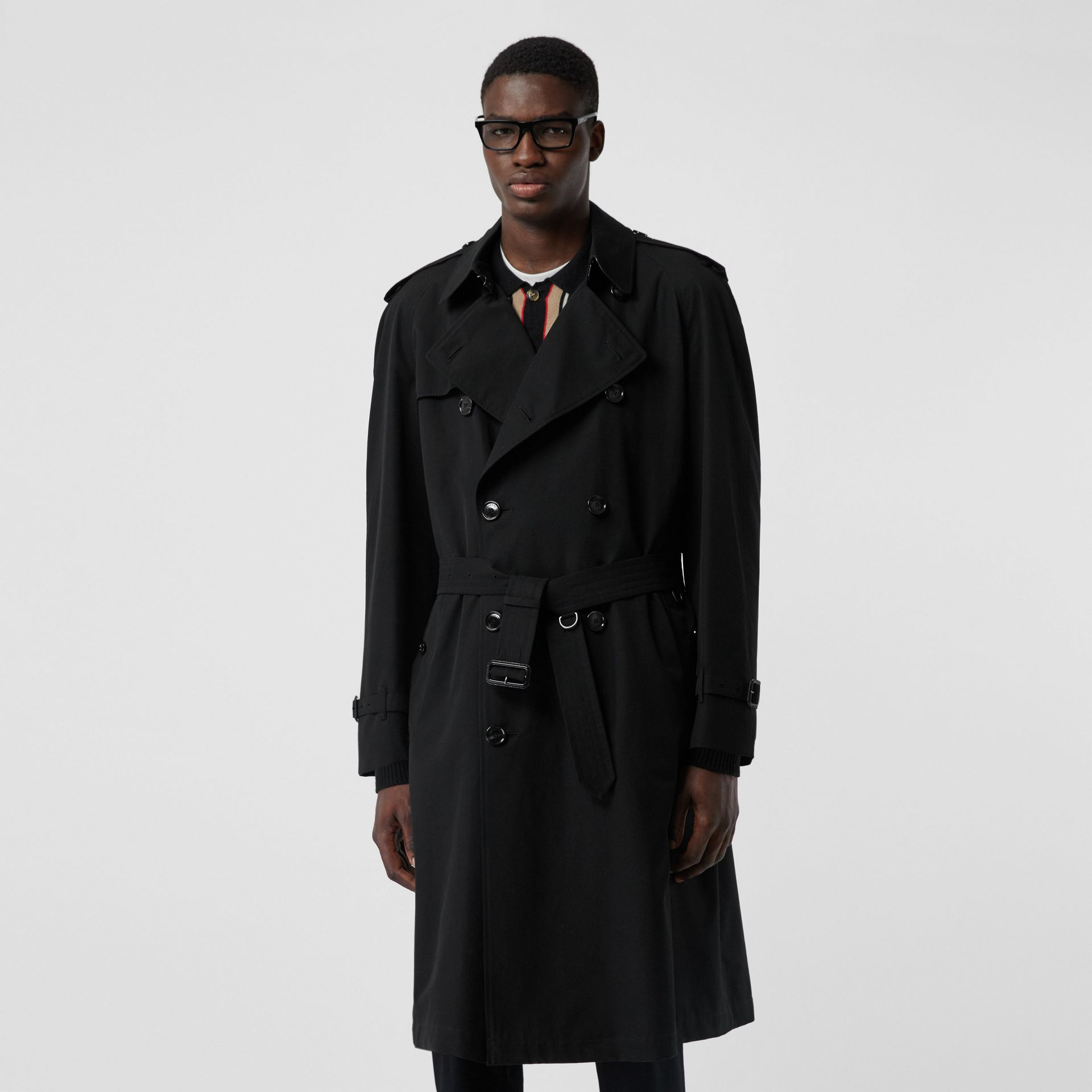 The Westminster Heritage Trench Coat in Black - Men | Burberry United Kingdom - gallery image 7