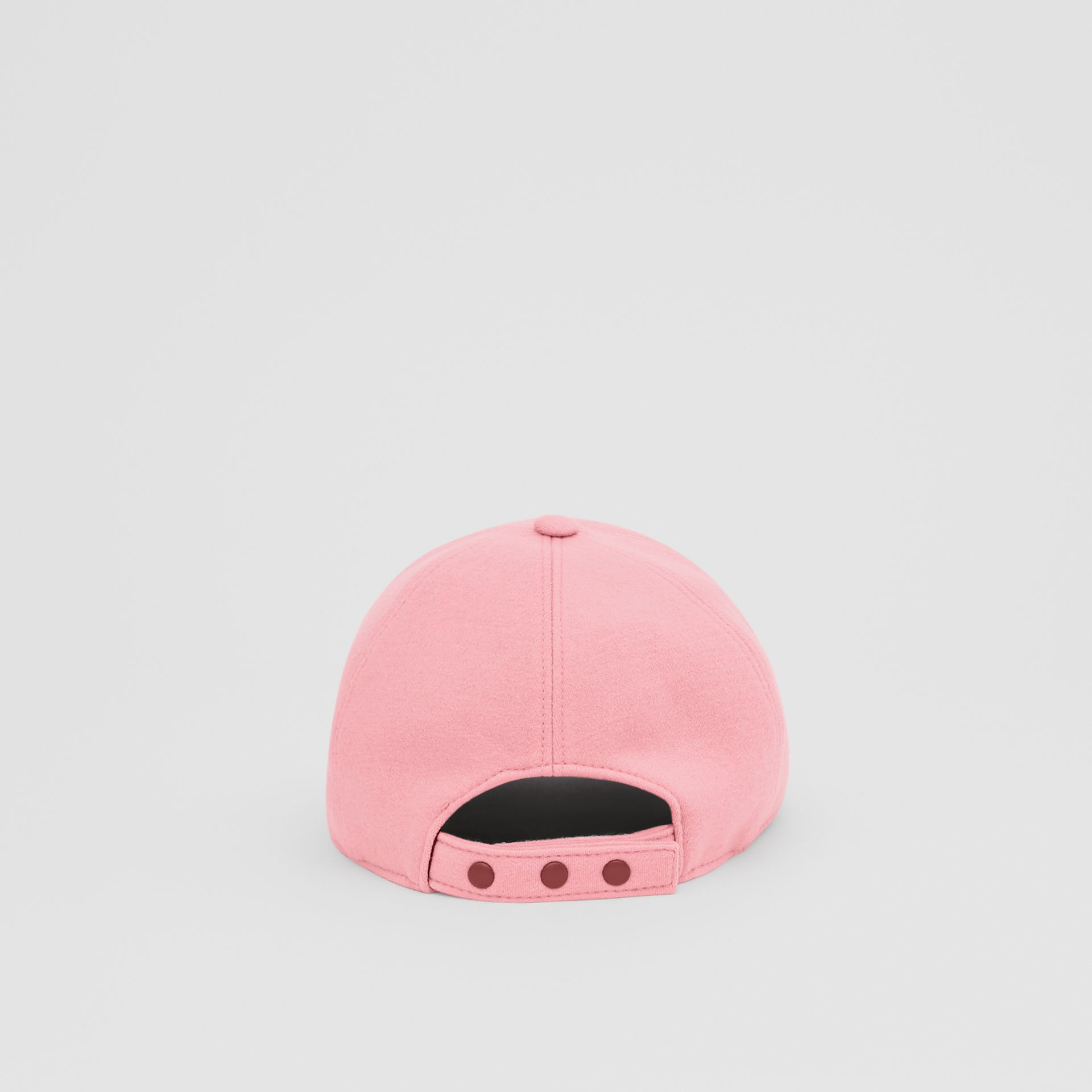 Monogram Motif Jersey Baseball Cap in Pink | Burberry United Kingdom - gallery image 6
