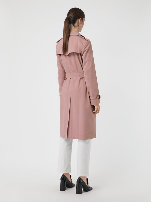 Tropical Gabardine Trench Coat in Chalk Pink - Women | Burberry - cell image 2