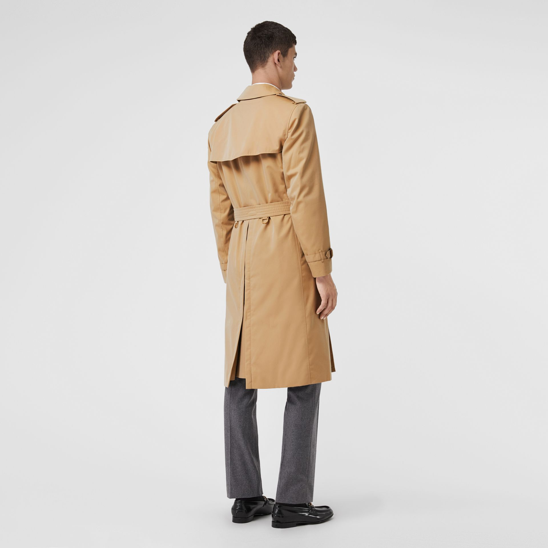 The Kensington – Trench Heritage long (Miel) - Homme | Burberry Canada - photo de la galerie 2