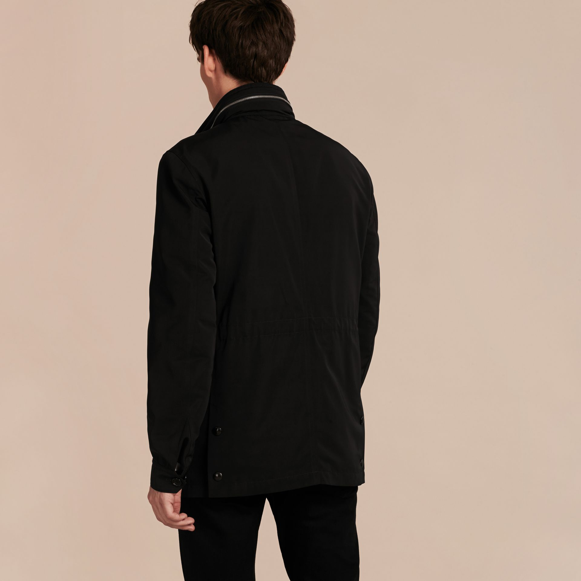 Black Packaway Hood Field Jacket - gallery image 3