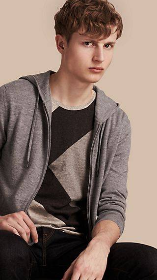 Hooded Cashmere Top