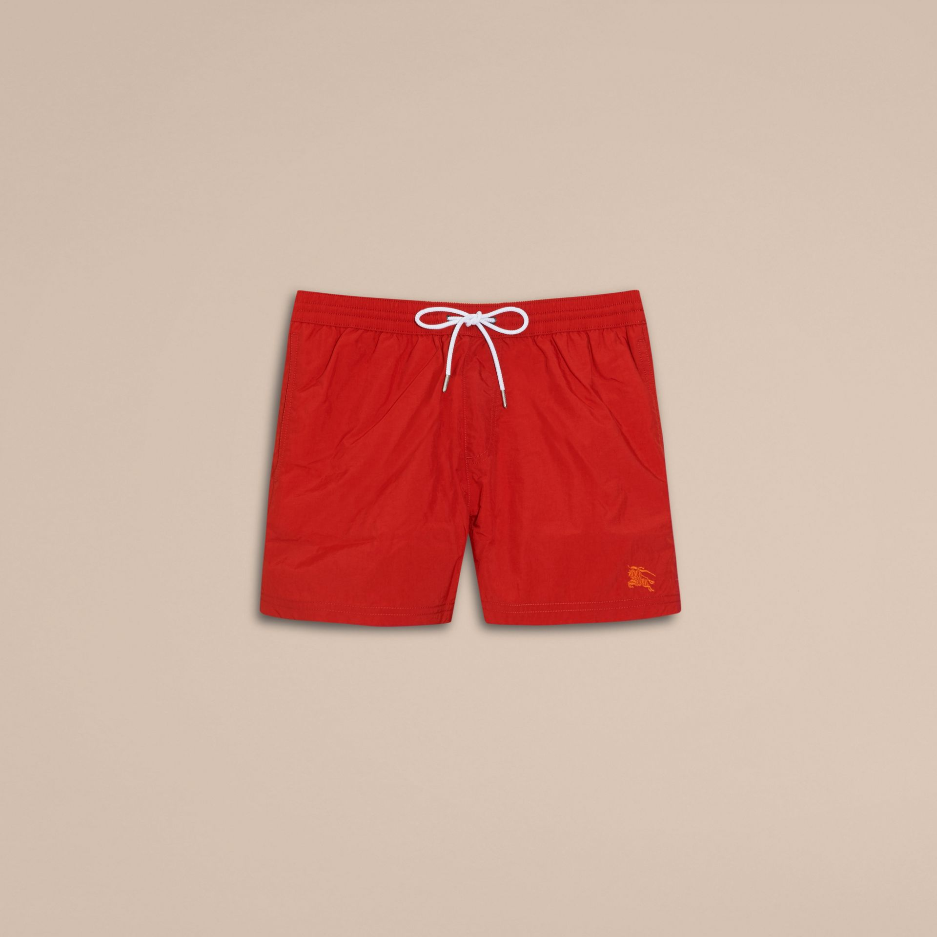 Military red Lightweight Swim Shorts Military Red - gallery image 4