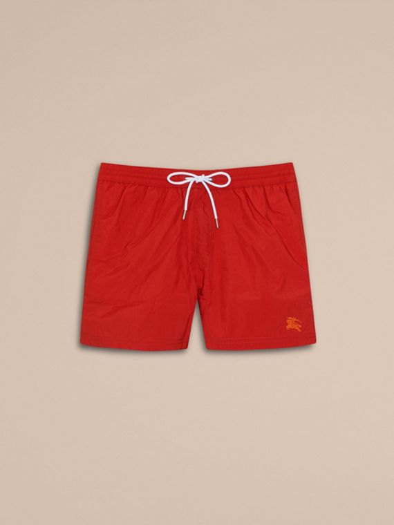 Lightweight Swim Shorts Military Red - cell image 3