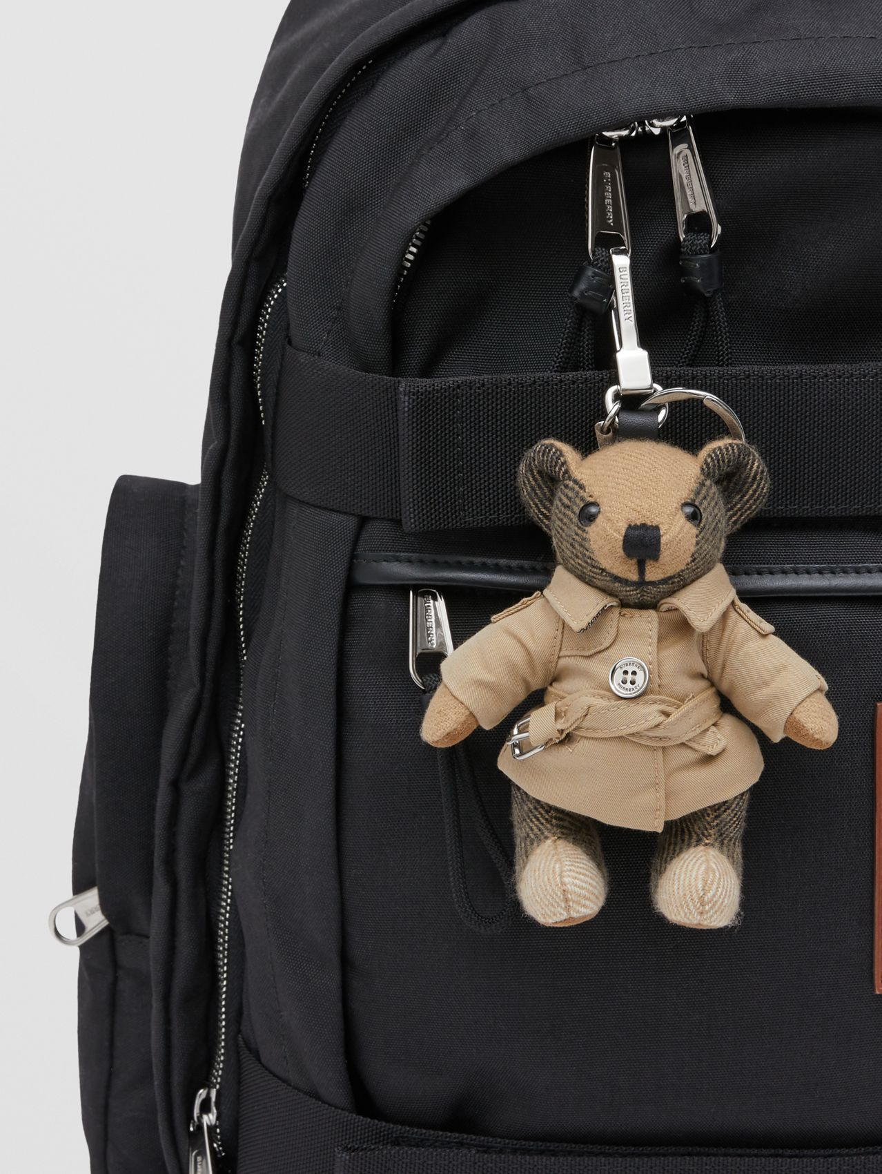 Thomas Bear Charm in Trench Coat (Archive Beige)