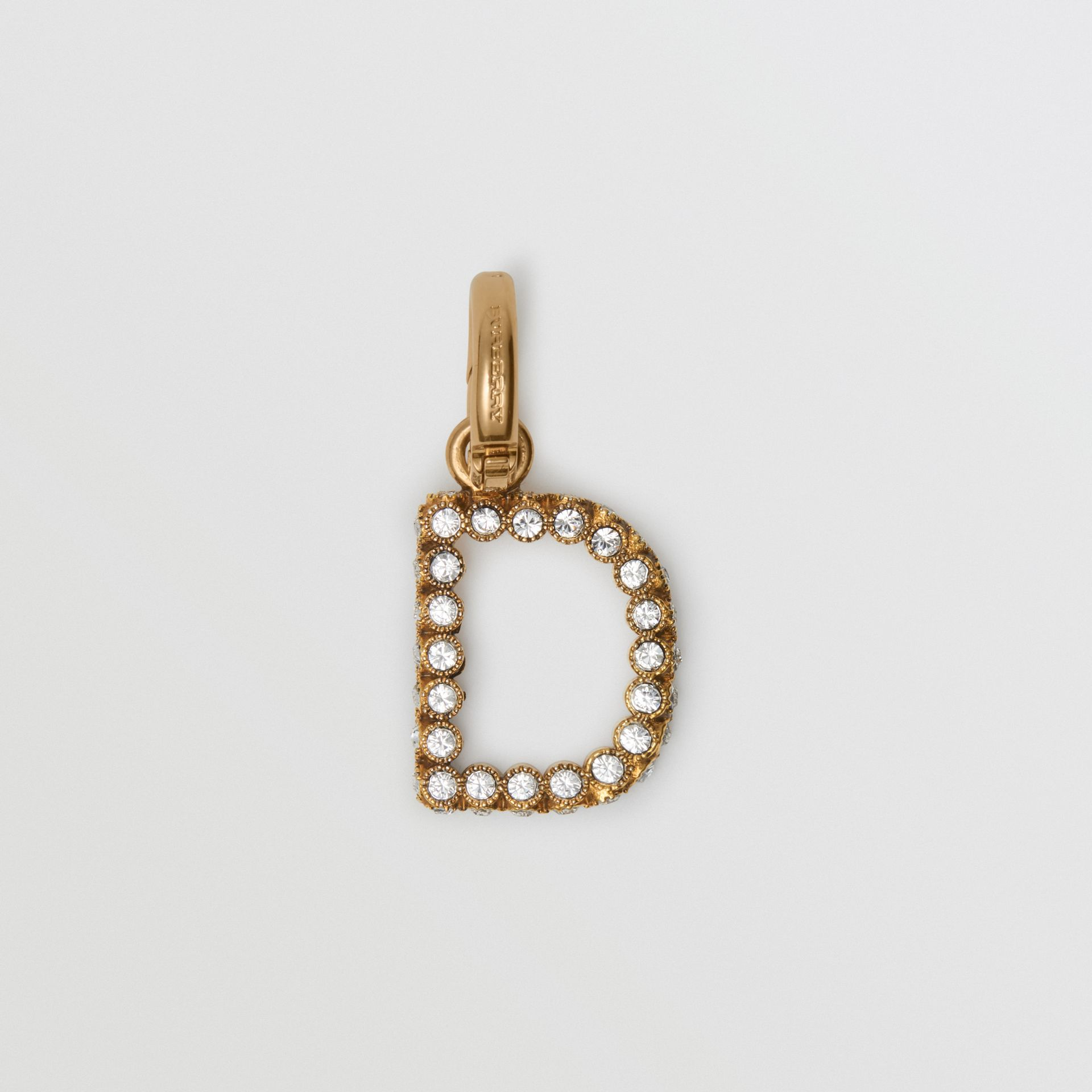 Crystal 'D' Alphabet Charm - Women | Burberry United Kingdom - gallery image 0