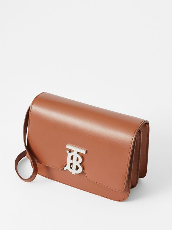 Small Leather TB Bag in Malt Brown - Women | Burberry - cell image 3