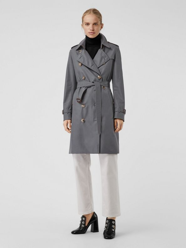The Kensington - Trench coat Heritage (Cinza Médio)