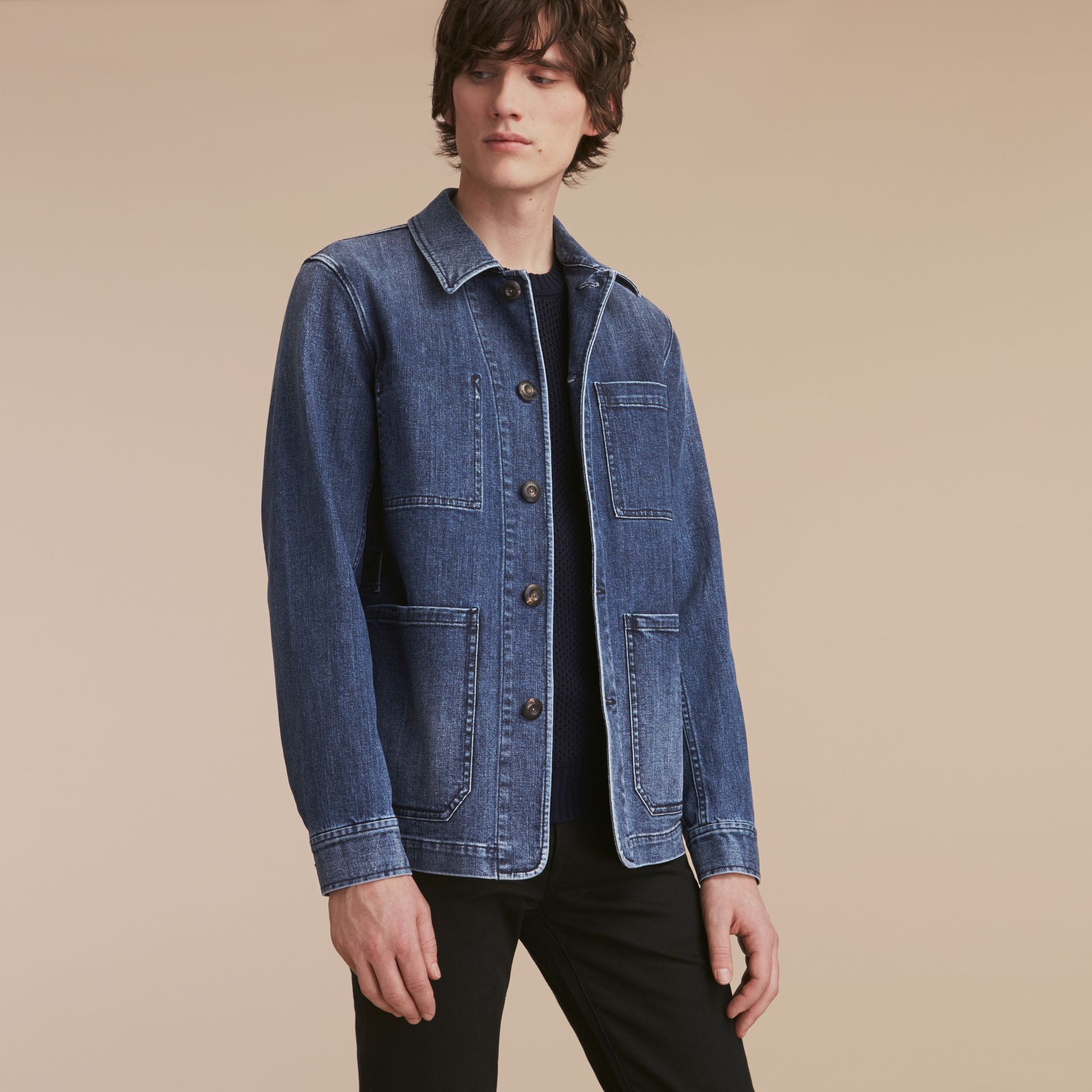 Denim Workwear Jacket - gallery image 7