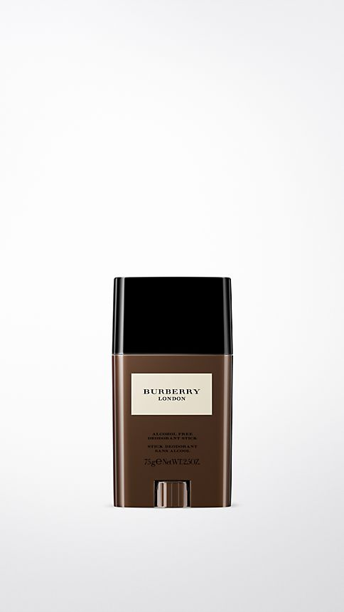 Check Burberry London For Men Alcohol-Free Deodorant Stick 75g - Image 1