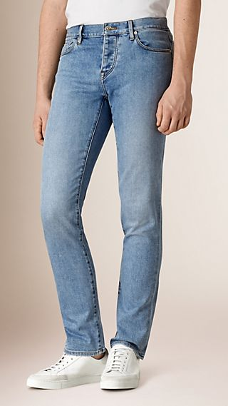 Straight Fit Comfort Stretch Japanese Denim Jeans