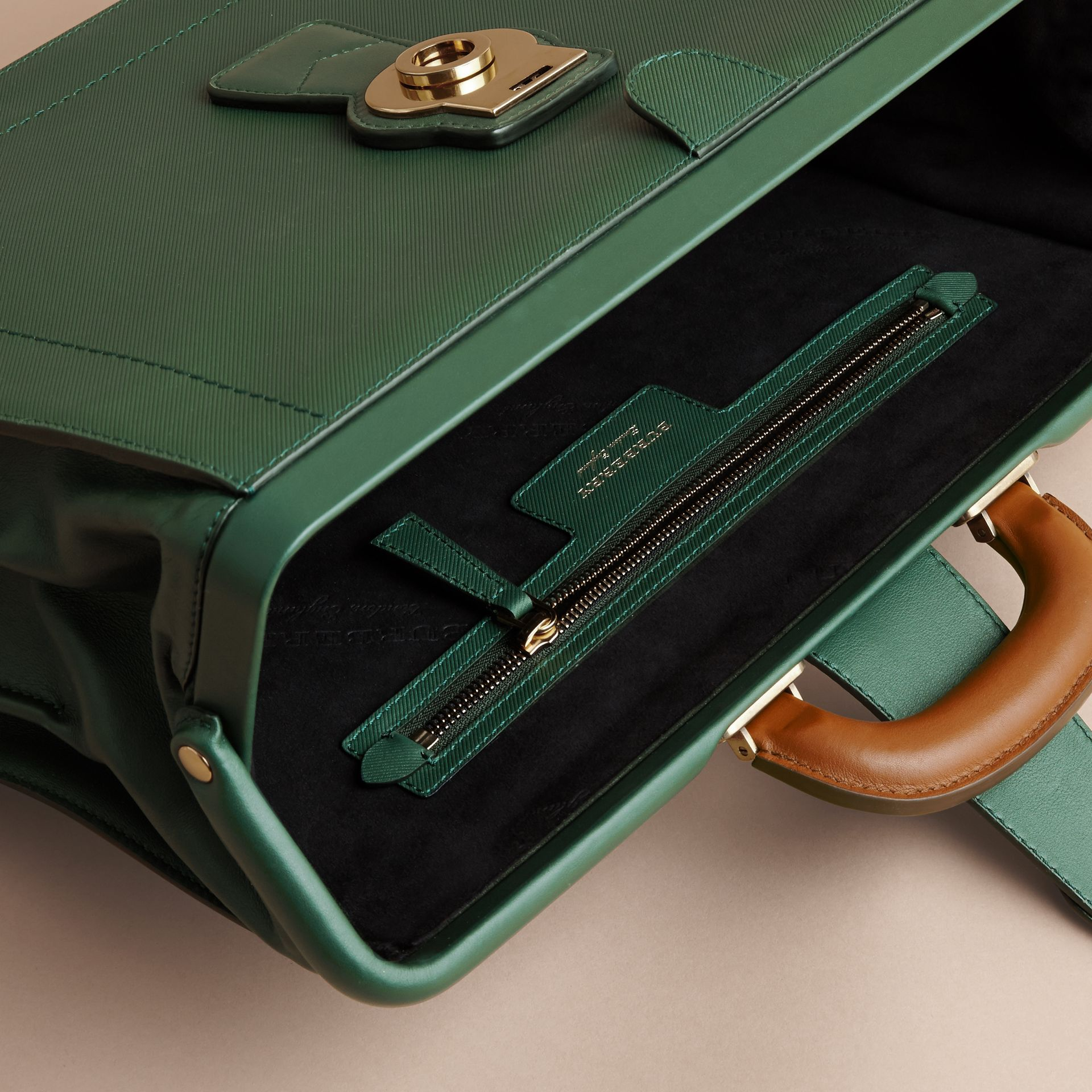 The DK88 Doctor's Bag in Dark Forest Green - Men | Burberry United States - gallery image 4
