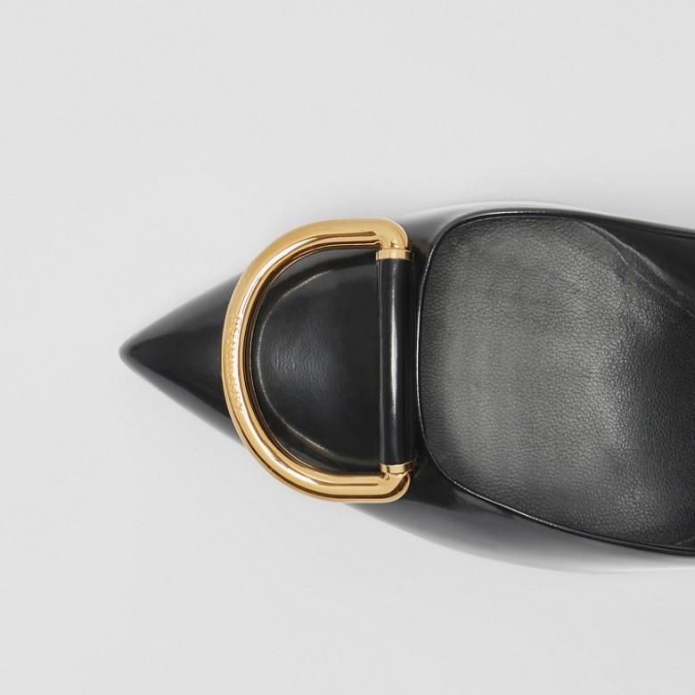 Burberry - Escarpins The D-ring en cuir - 2