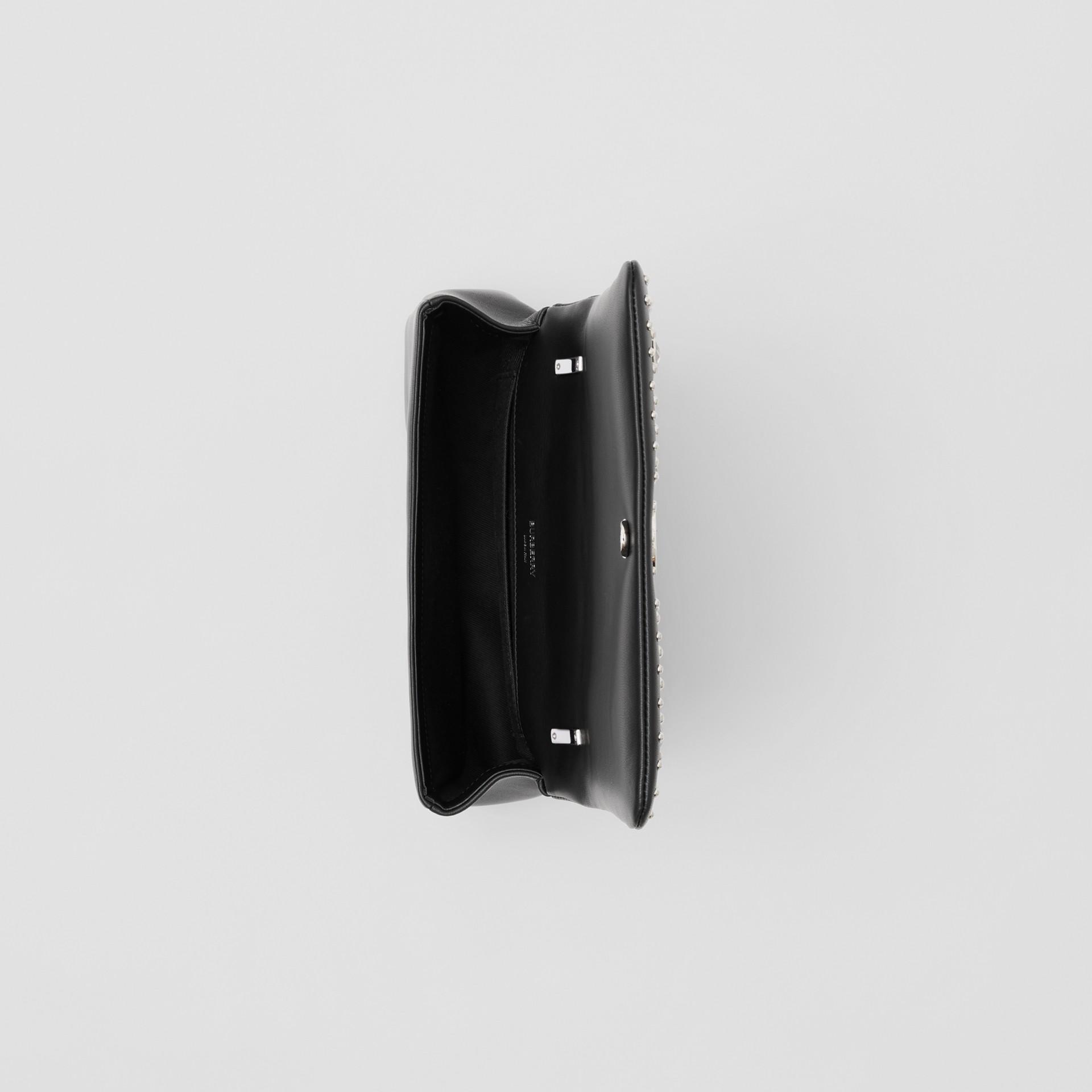 Small Embellished Lambskin Lola Bag in Black - Women | Burberry - gallery image 4