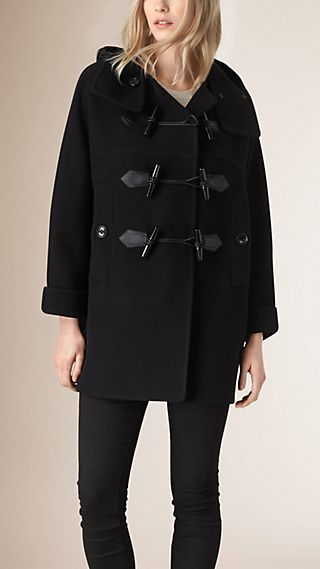 Oversize Virgin Wool Cashmere Duffle Coat