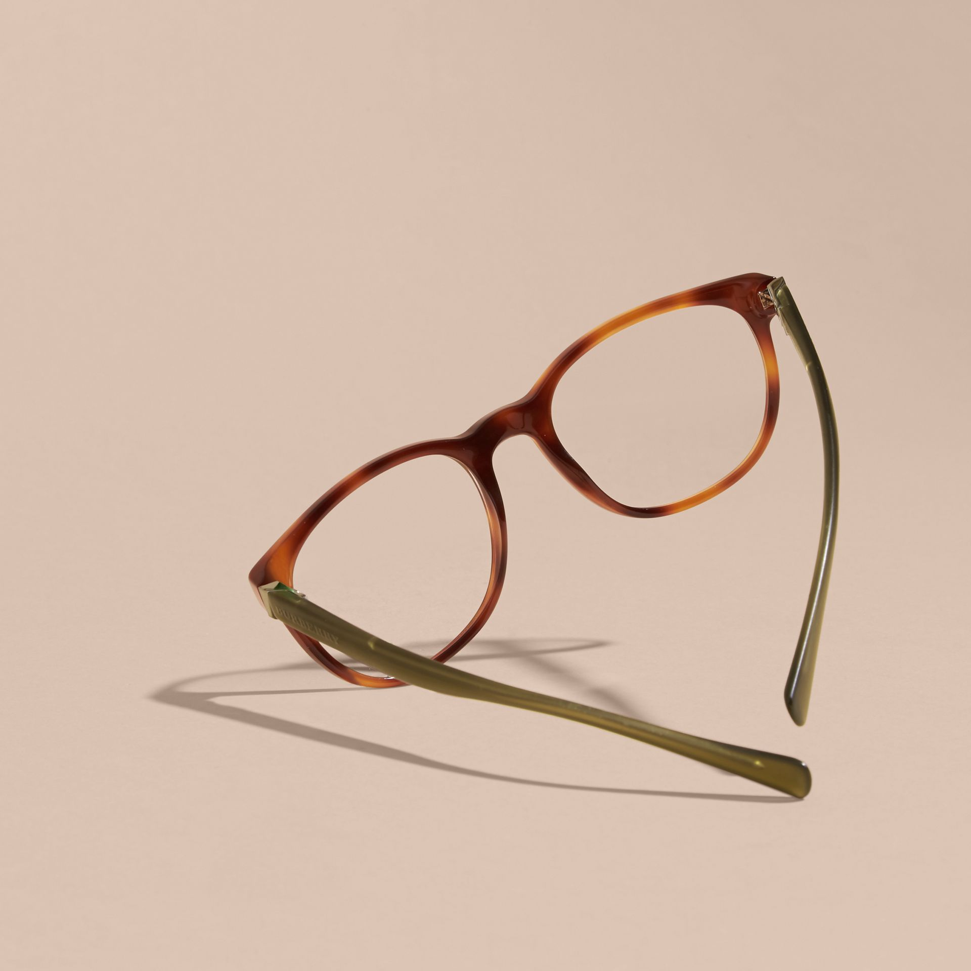 Square Optical Frames Tortoise Shell - gallery image 4