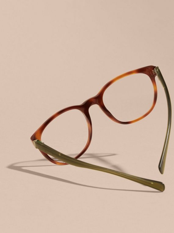 Tortoise shell Square Optical Frames Tortoise Shell - cell image 3
