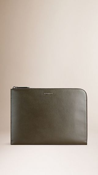 London Leather Document Case