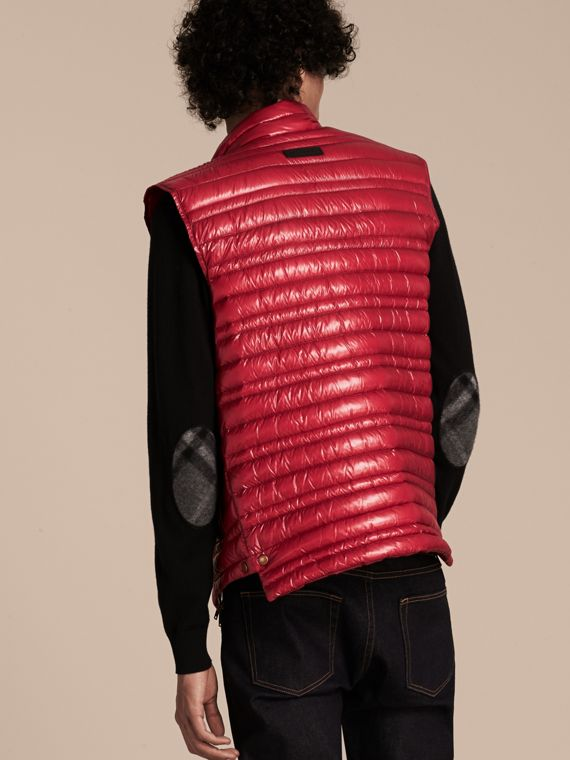 Parade red Lightweight Down-filled Gilet Parade Red - cell image 2