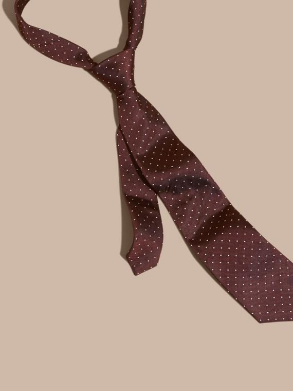 Classic Cut Polka Dot Silk Twill Tie
