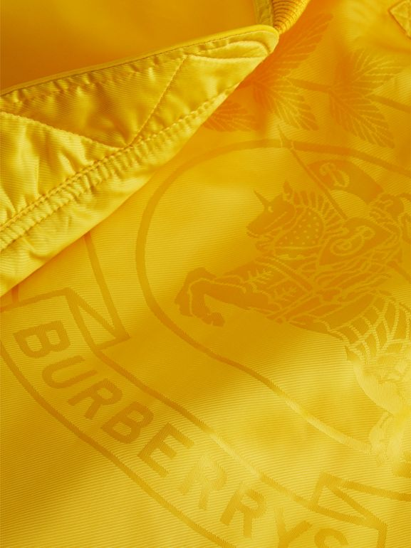 Bomber in nylon (Giallo Intenso) - Uomo | Burberry - cell image 1
