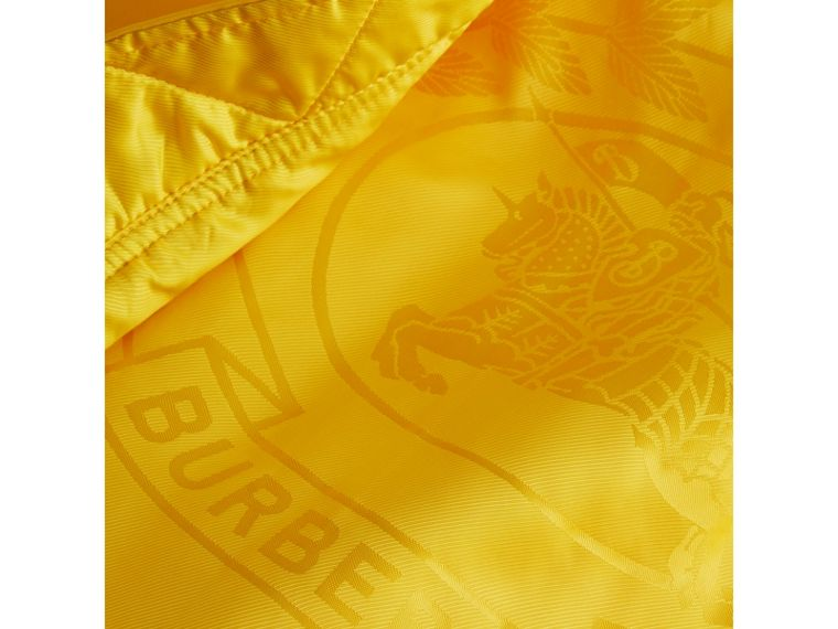 Nylon Bomber Jacket in Bright Yellow - Men | Burberry - cell image 1