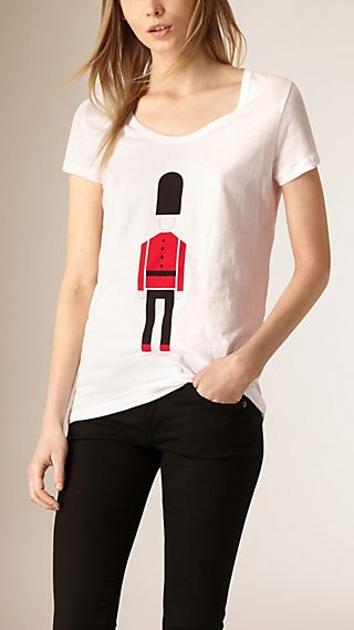 The Guardsman Graphic Cotton T-shirt