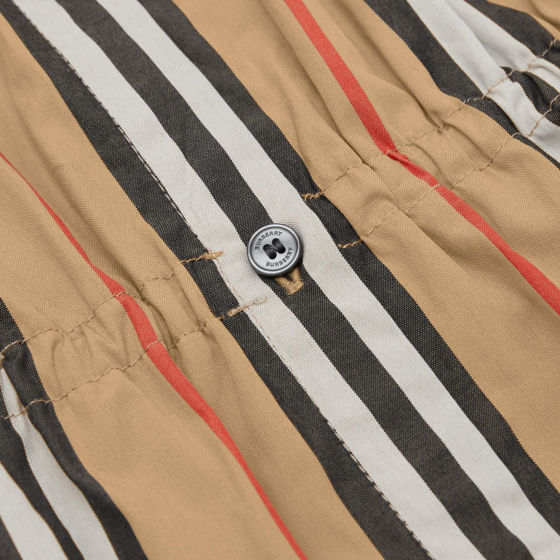 アイコンストライプ コットンポプリン ドレス (アーカイブベージュ) | バーバリー - ギャラリーイメージ 1