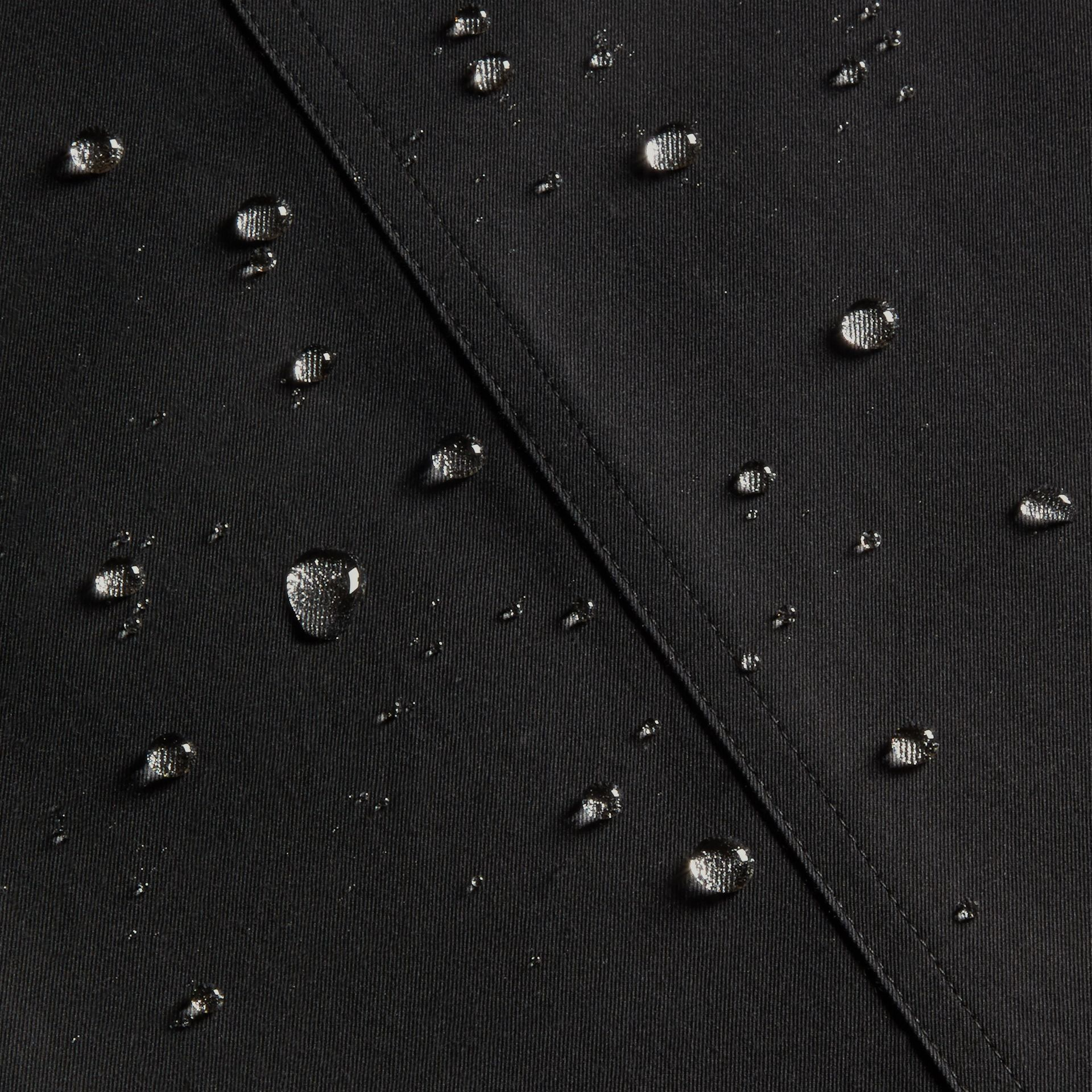 Black The Wiltshire – Long Heritage Trench Coat Black - gallery image 8