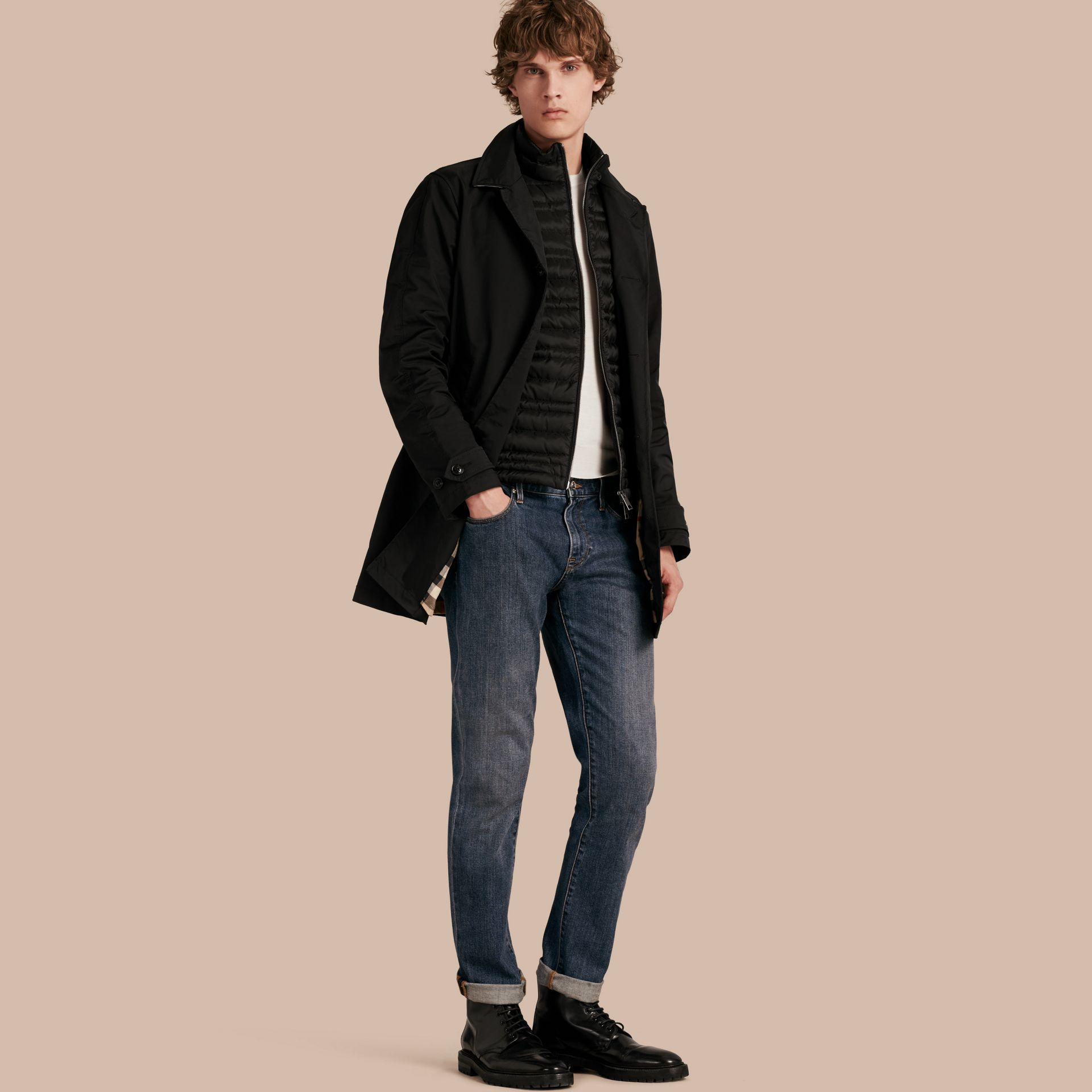 Car Coat with Detachable Down-filled Gilet - gallery image 1