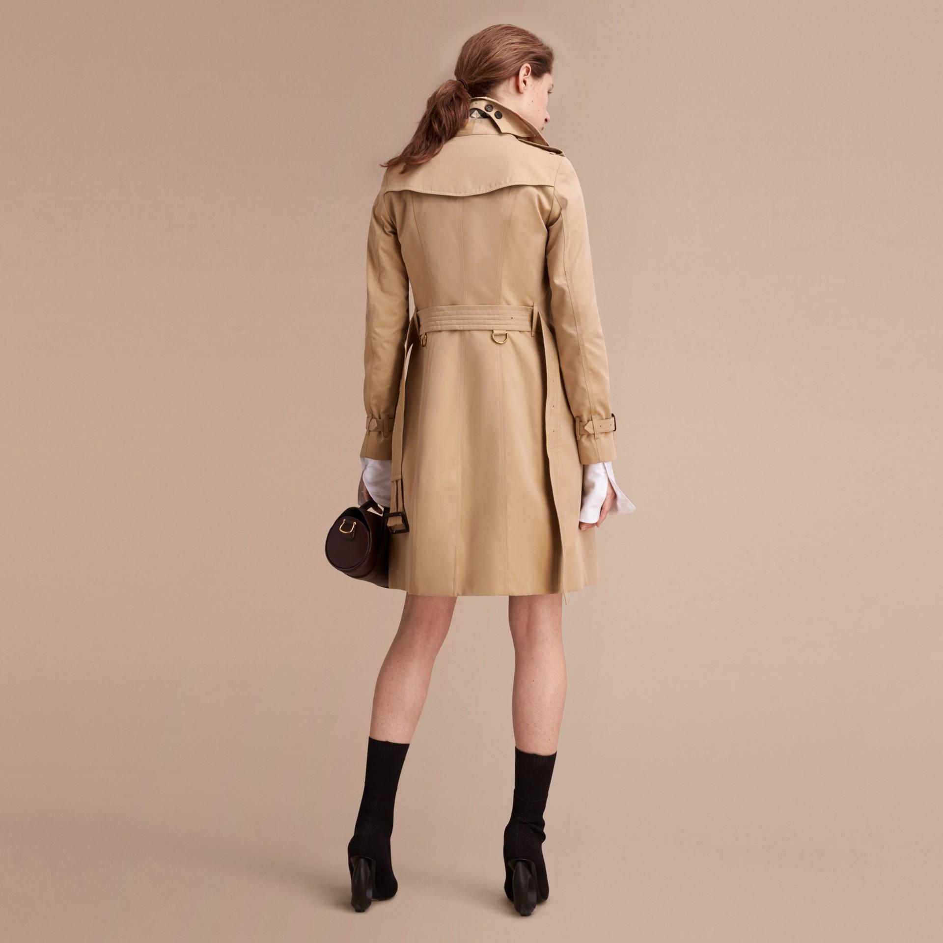 Mel The Sandringham - Trench coat Heritage longo Mel - galeria de imagens 4