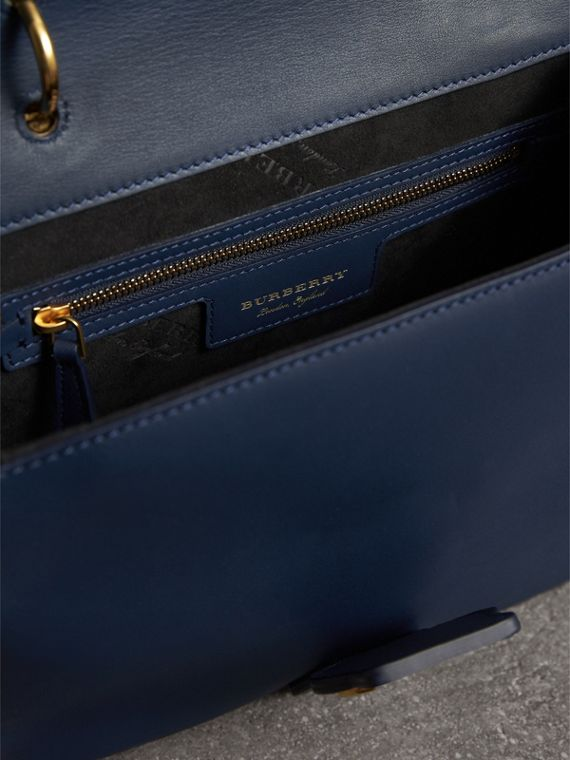 The Medium DK88 Top Handle Bag in Ink Blue - Women | Burberry - cell image 3