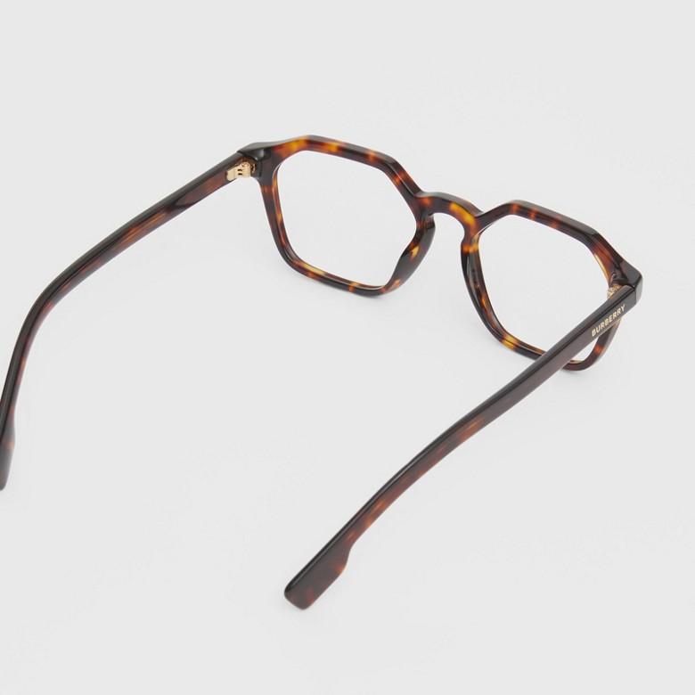 Burberry - Monture géométrique pour lunettes de vue - 4