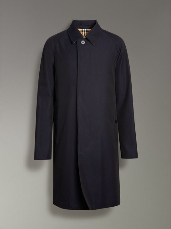 The Camden Car Coat in Blue Carbon - Men | Burberry - cell image 3