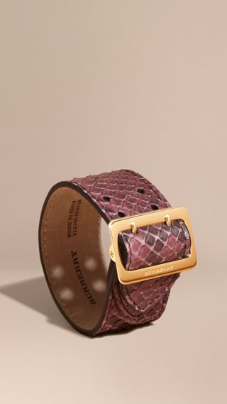 Bracelet manchette en python