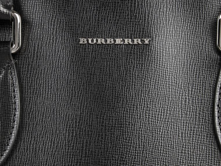 London Leather Tote Bag in Black - Men | Burberry - cell image 1