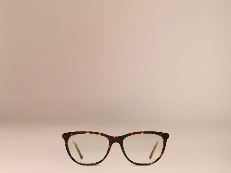 Tortoise shell Gabardine Collection Cat-Eye Optical Frames Tortoise Shell - cell image 1