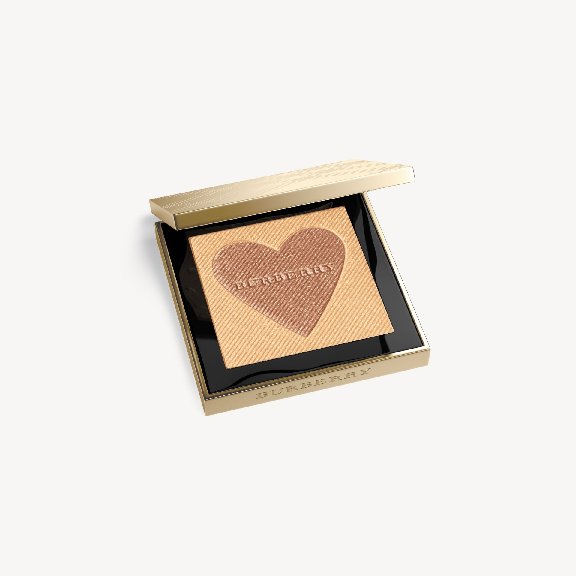 London with Love Palette Limited Edition Illuminating Bronzer in Gold | Burberry - gallery image 1