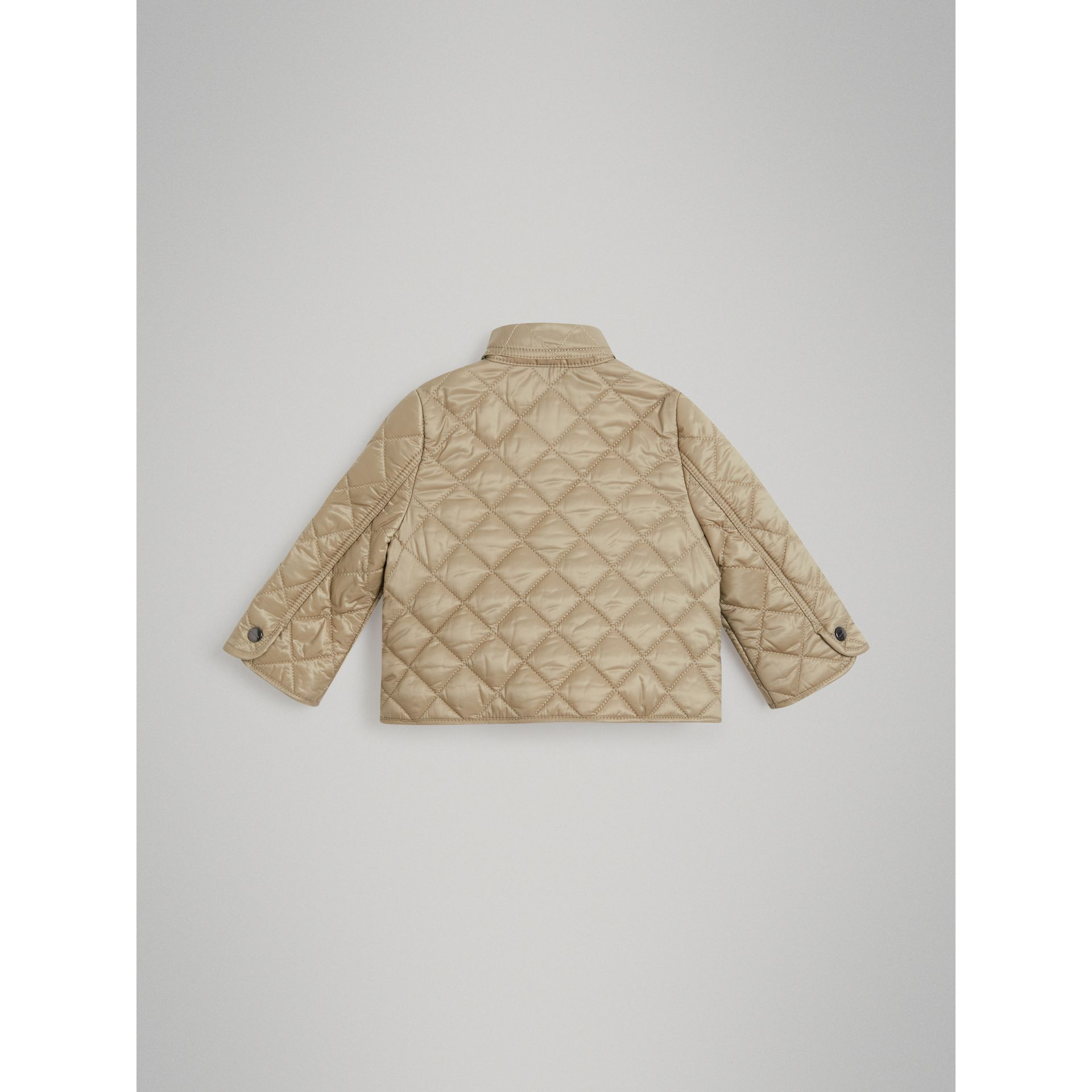 Lightweight Diamond Quilted Jacket in Mink - Children | Burberry - gallery image 2