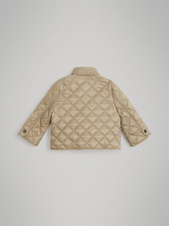 Lightweight Diamond Quilted Jacket in Mink | Burberry - cell image 2