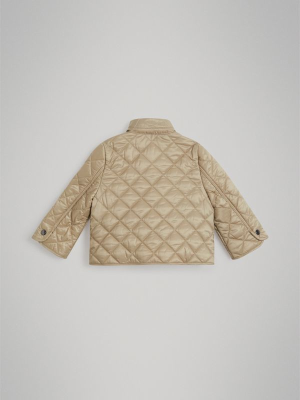Lightweight Diamond Quilted Jacket in Mink - Children | Burberry - cell image 2