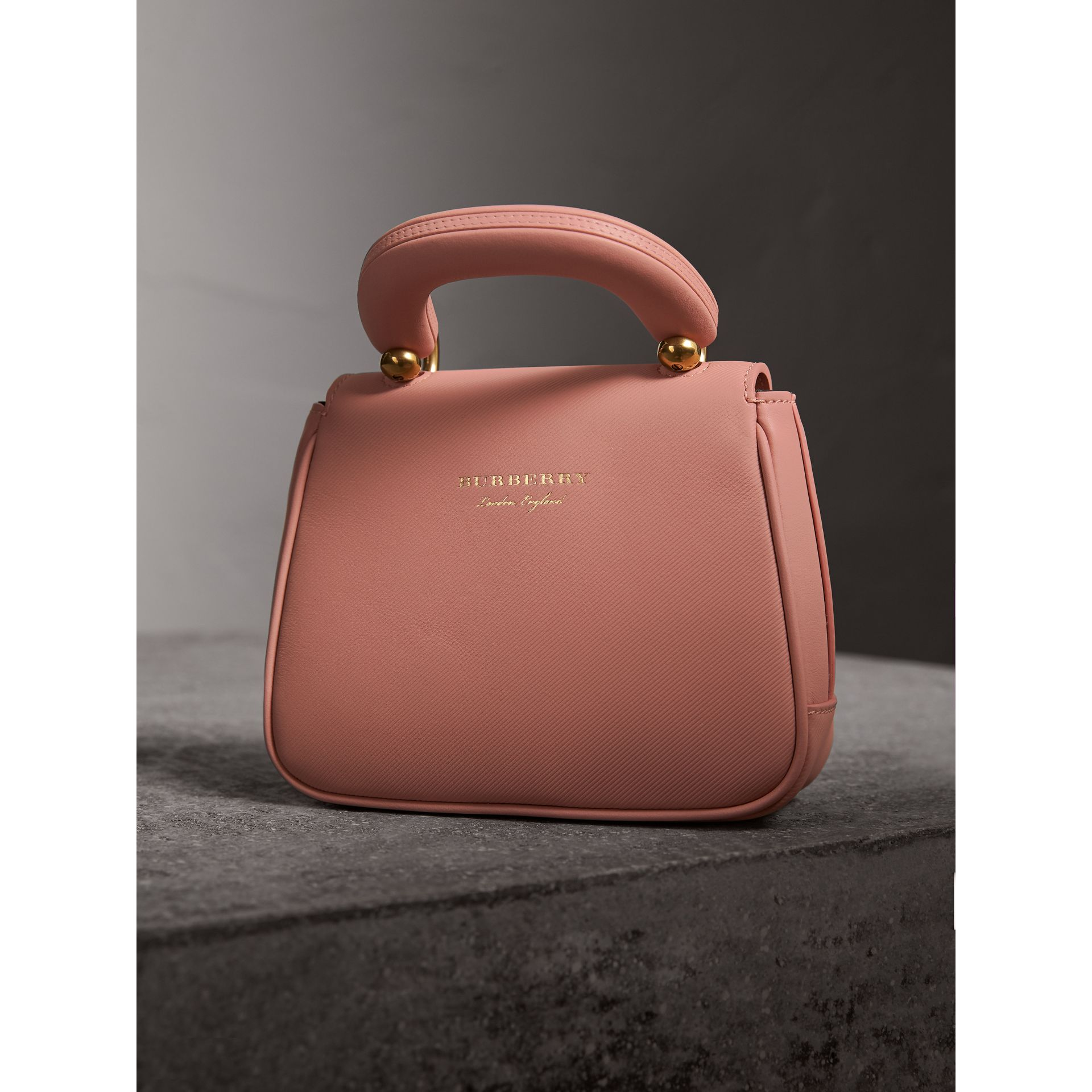 The Mini DK88 Top Handle Bag in Ash Rose - Women | Burberry United Kingdom - gallery image 4
