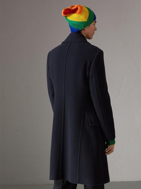 羊毛喀什米爾大衣 (暗藍色) | Burberry - cell image 2