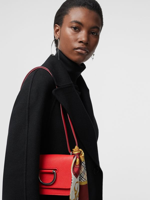 Mini sac The D-ring en cuir (Rouge Vif) - Femme | Burberry Canada - cell image 3