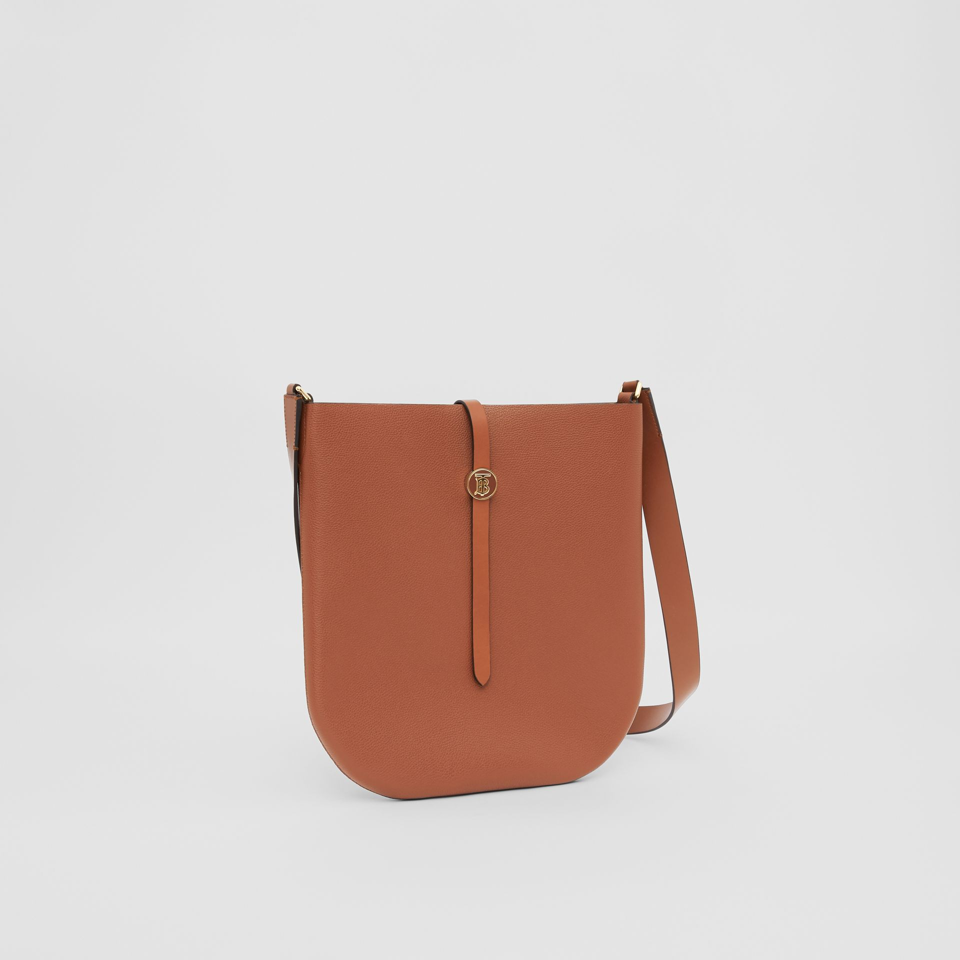 Grainy Leather Anne Bag in Tan - Women | Burberry United Kingdom - gallery image 4