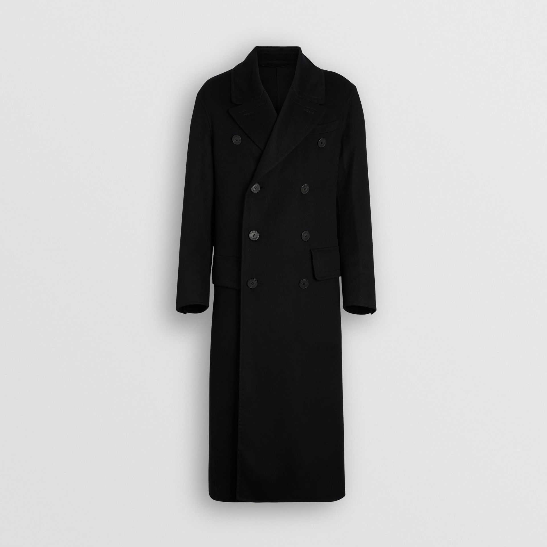Double-faced Cashmere Tailored Coat in Black - Men | Burberry United States - gallery image 3