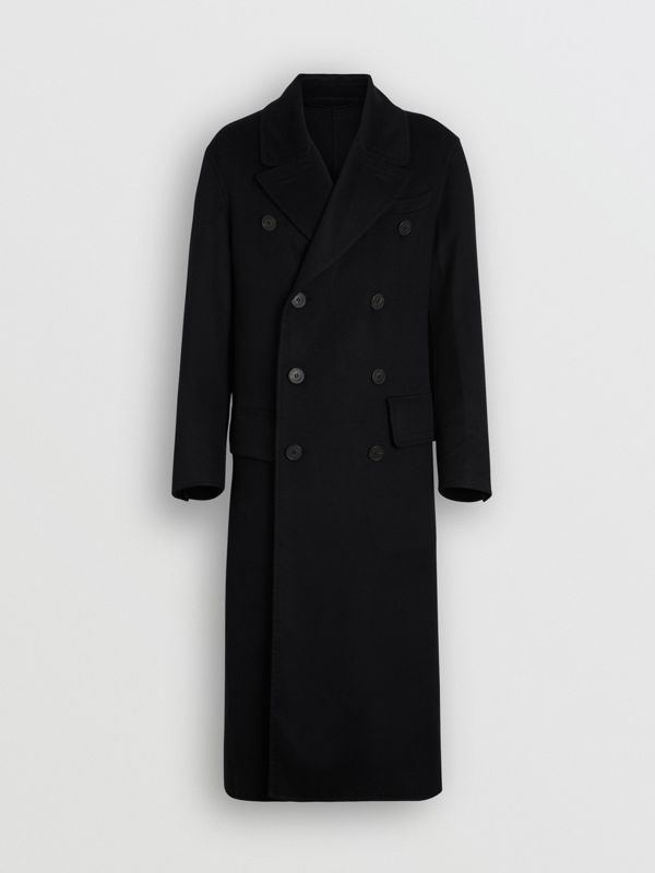 Double-faced Cashmere Tailored Coat in Black - Men | Burberry United States - cell image 3