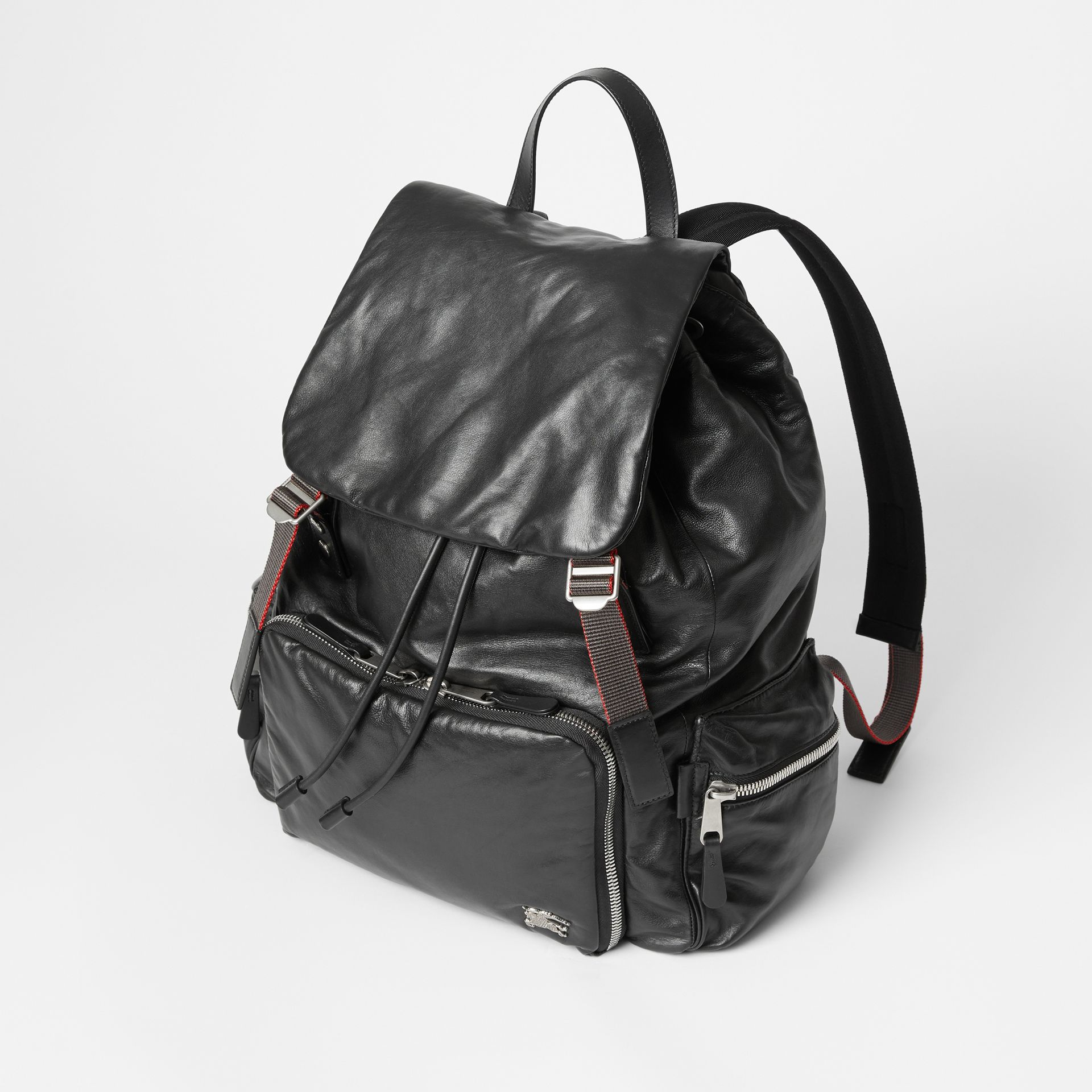 The Extra Large Rucksack in Nappa Leather in Black - Men | Burberry United States - gallery image 4