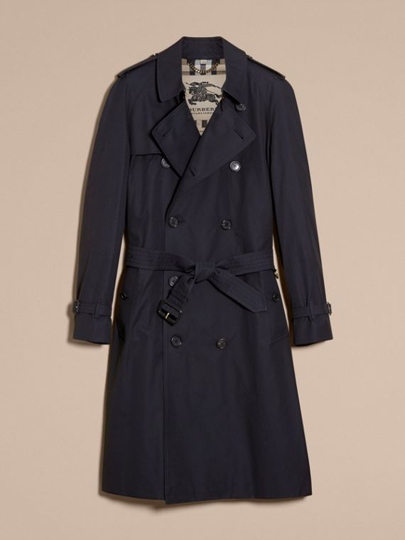 Navy The Westminster – Long Heritage Trench Coat Navy - cell image 3